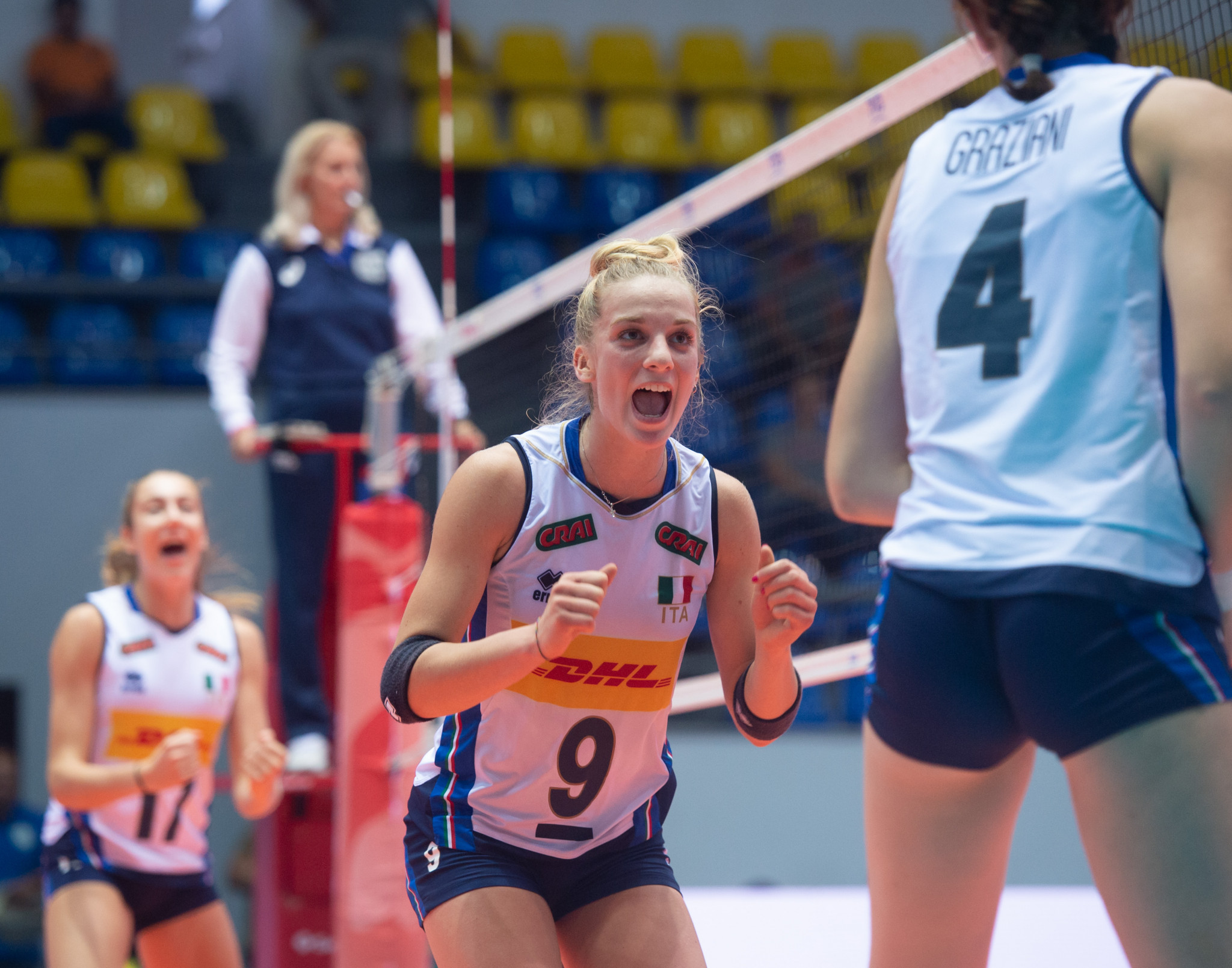 Back-to-back winners Italy make quarter-finals at FIVB Girls' Under-18 World Championship
