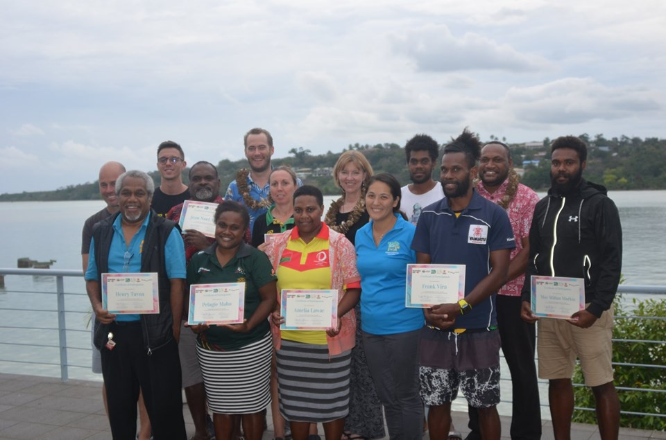 Vanuatu Association of Sports and National Olympic Committee attend good governance workshop