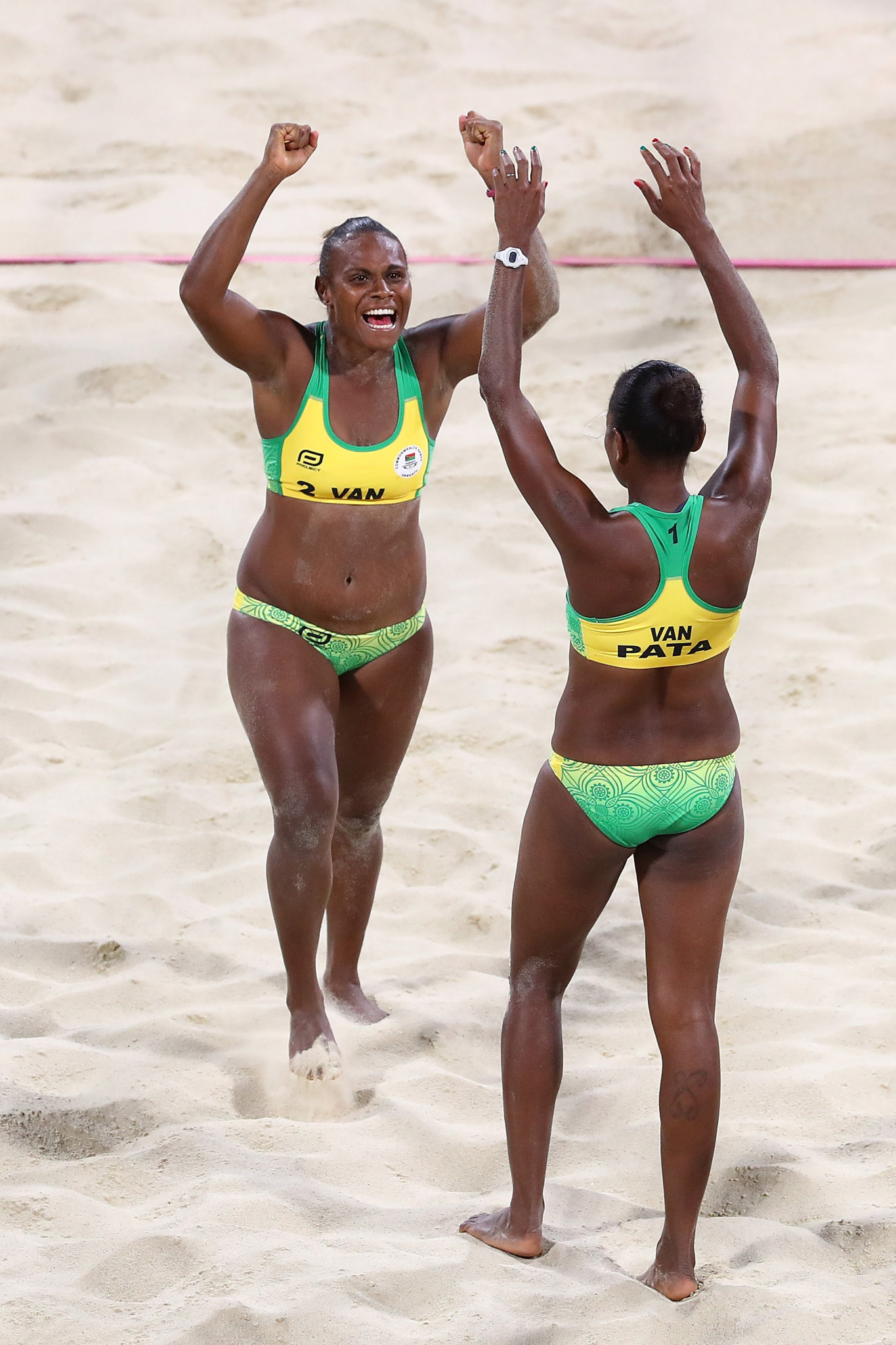 Vanuatu won their first Commonwealth Games medals at Gold Coast 2018 ©Getty Images