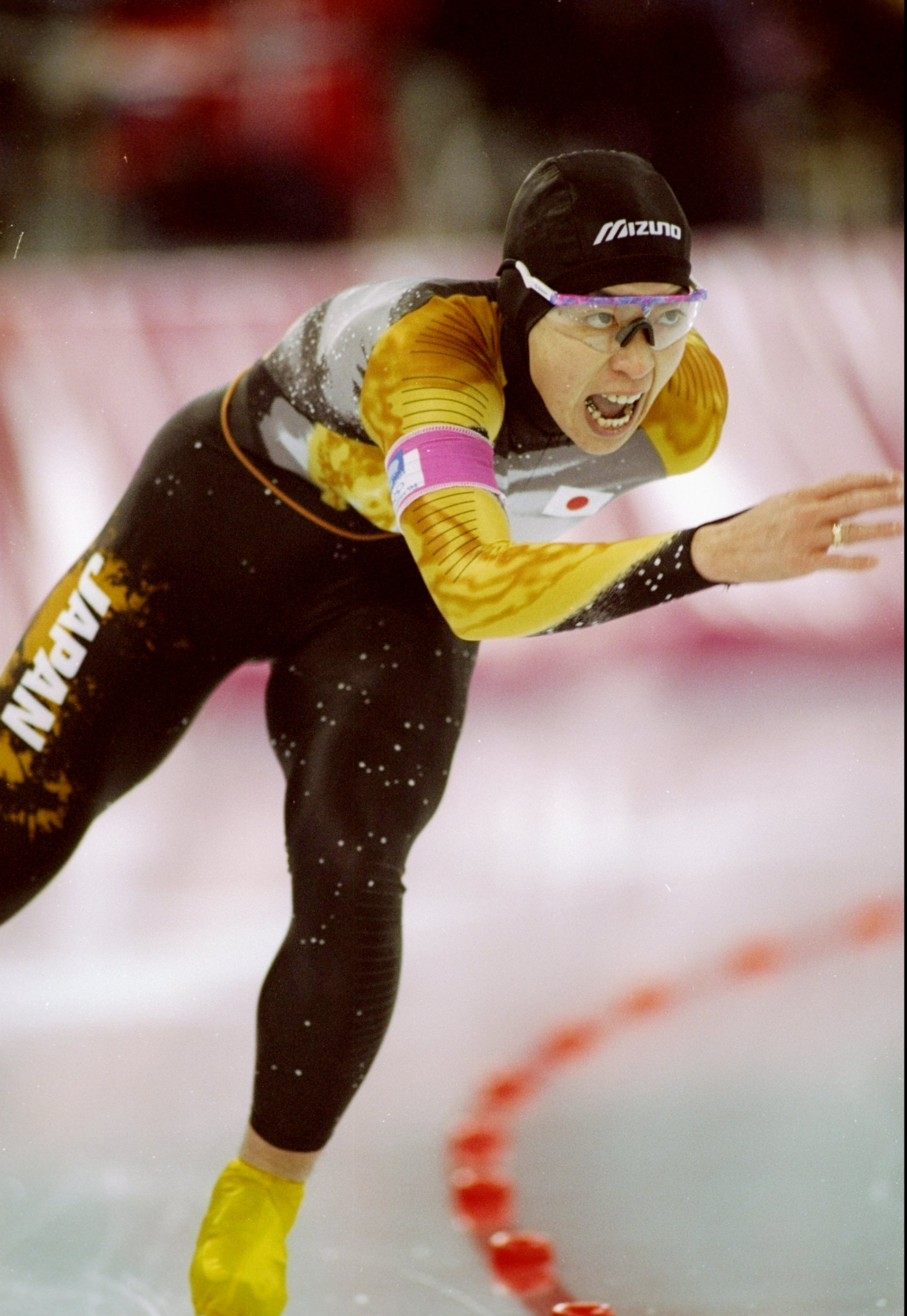 Seiko Hashimoto won Olympic bronze during her speed skating career ©Getty Images