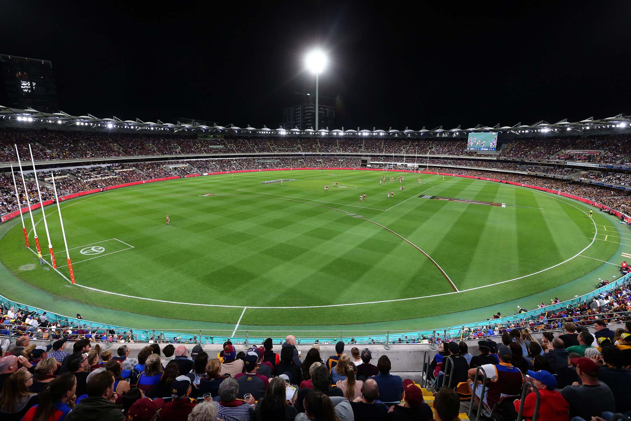 One option could see The Gabba in Brisbane extended ©Getty Images
