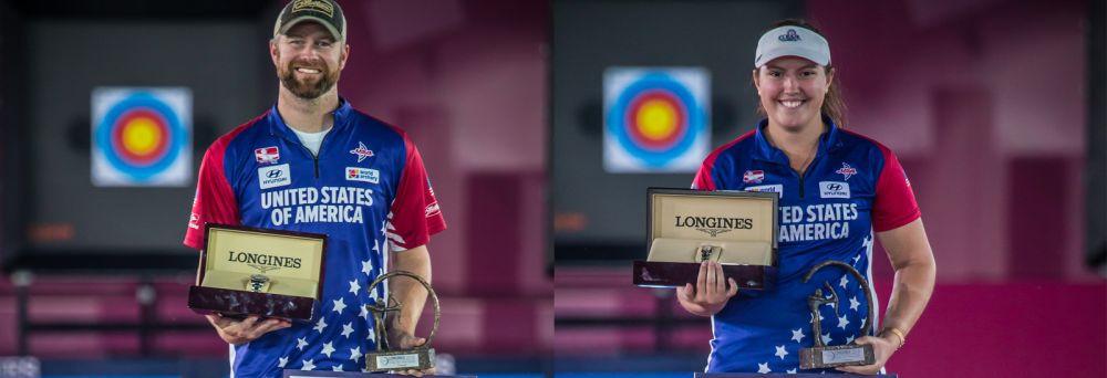 Gellenthien and Ruiz win World Archery's Longines Prize