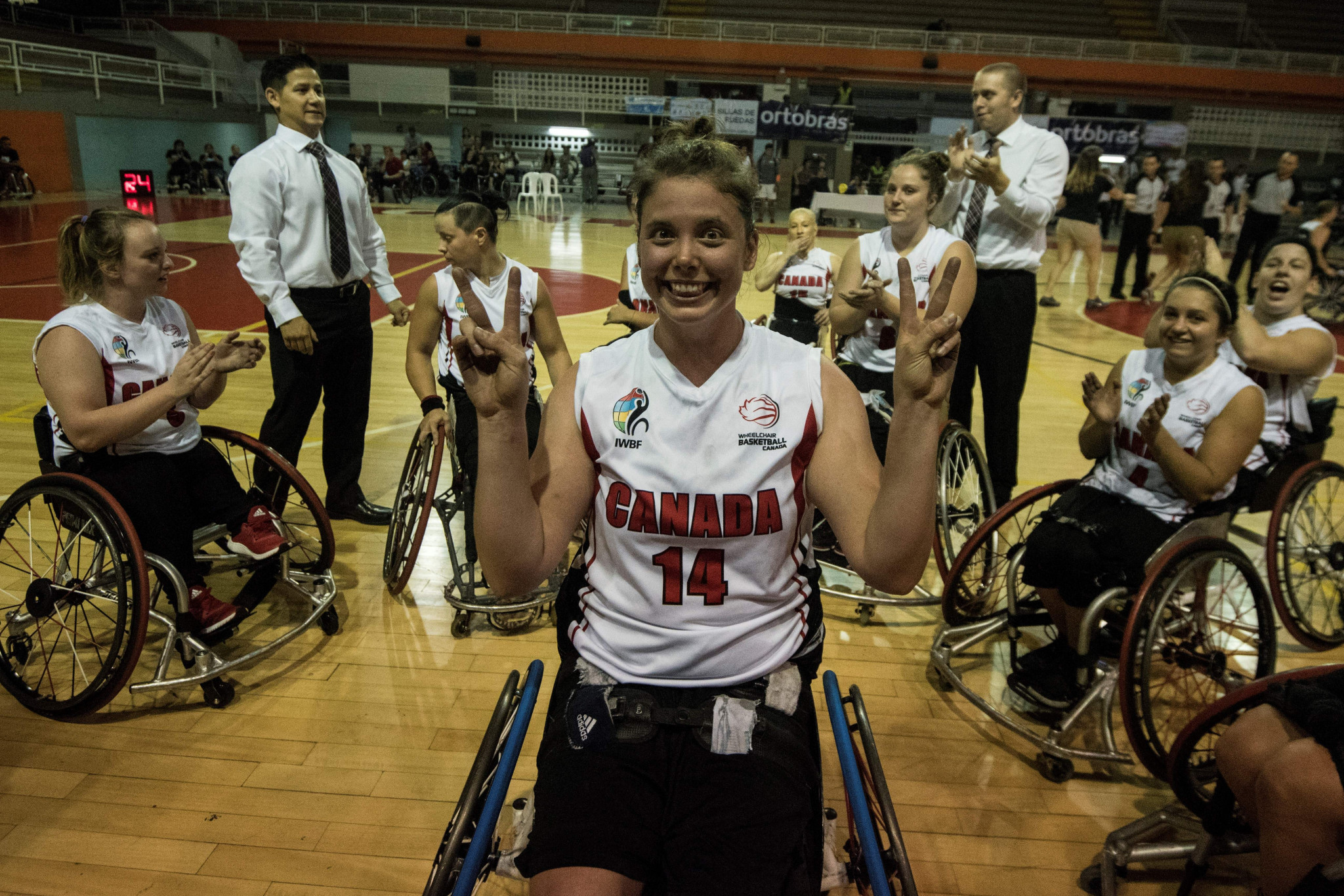 Canadian wheelchair basketballer Gavel eyes strong showing at Tokyo 2020