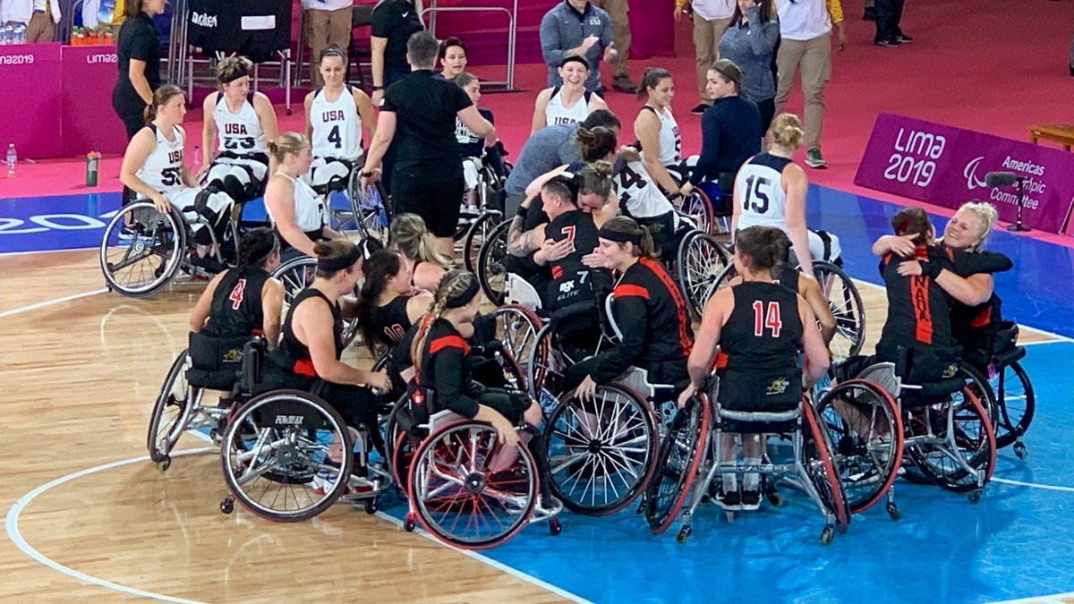 Canada beat the United States 67-64 in Lima ©Lima 2019/Twitter