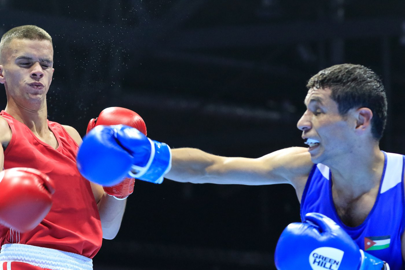 The Jordanian boxer secured a unanimous victory ©Yekaterinburg 2019