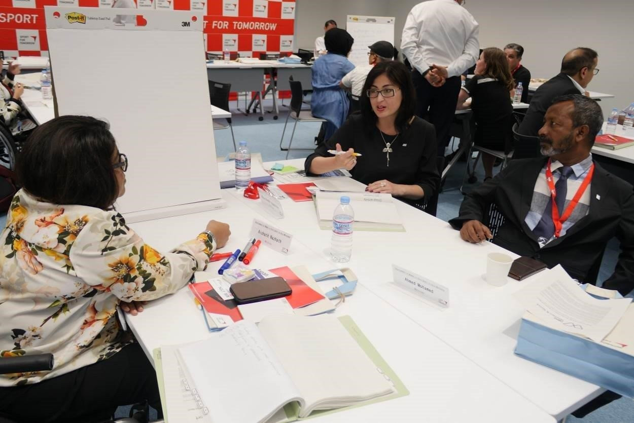 Delegates were provided with key qualification information for the Tokyo 2020 Paralympic Games ©APC