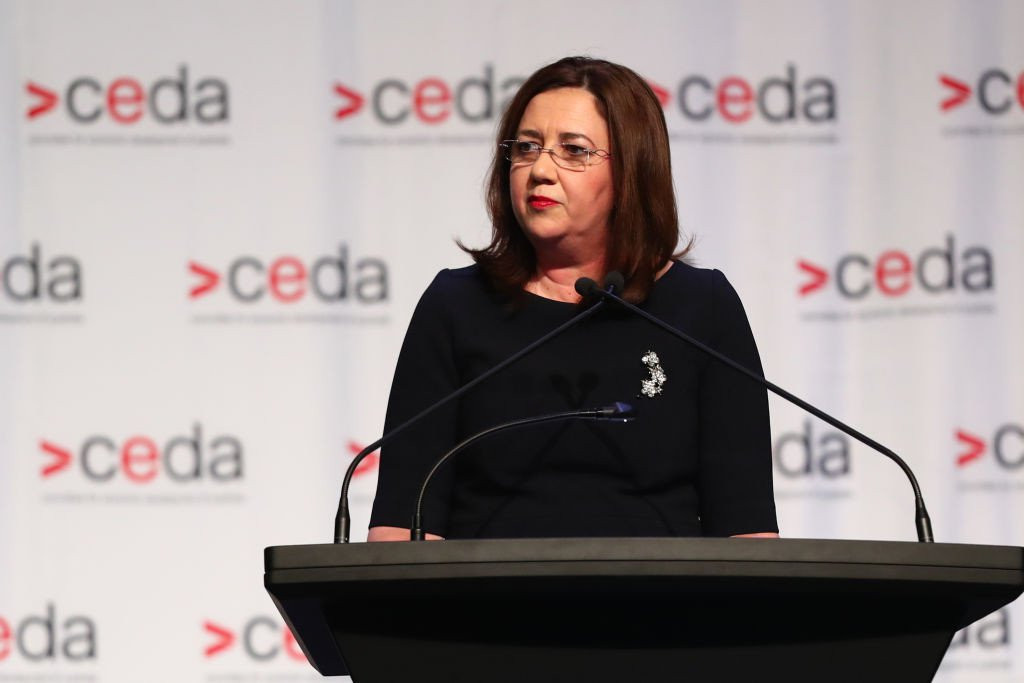 Queensland Premier Annastacia Palaszczuk cut short her trip to the International Olympic Committee headquarters in Lausanne ©Getty Images