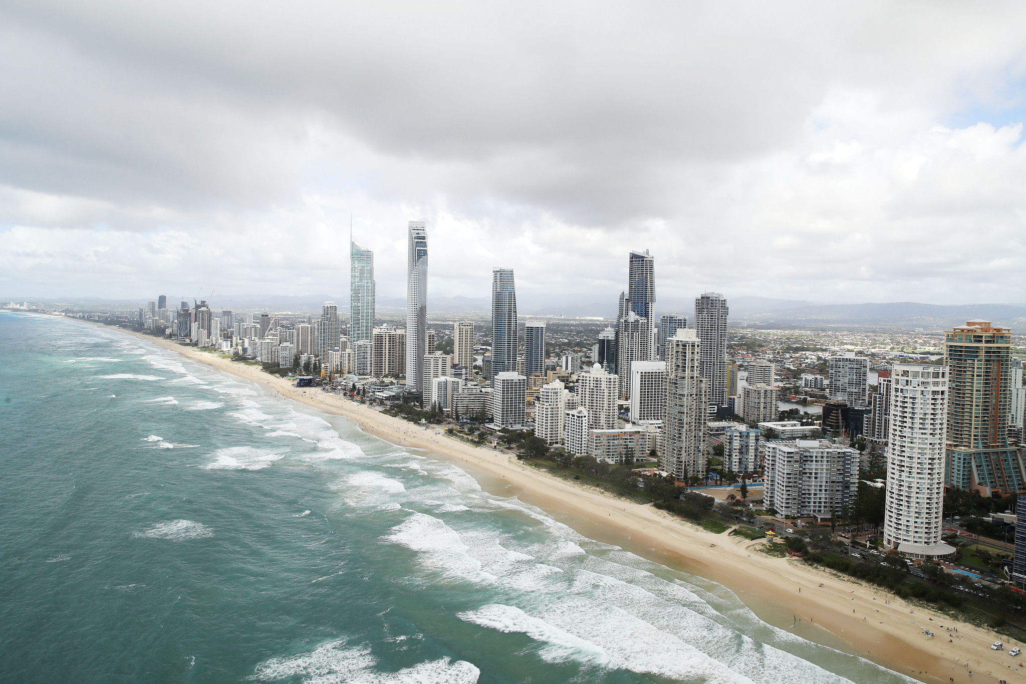 A successful Queensland bid for the 2032 Olympic Games could see competition take place at Gold Coast ©Getty Images