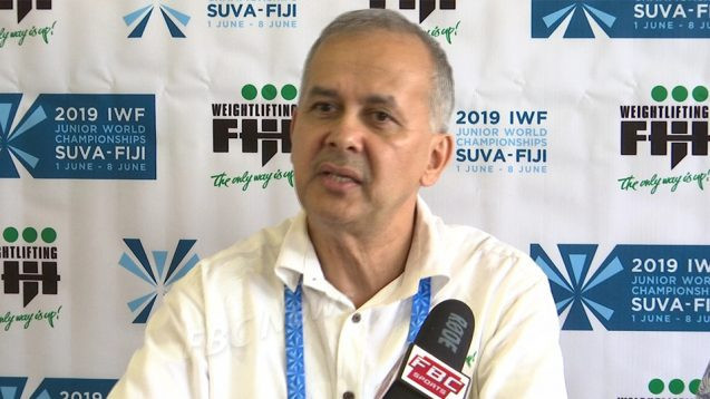 Maharaj re-elected as Weightlifting Fiji President