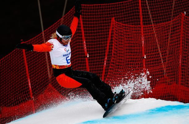 Three riders secure double gold at season-opening IPC Snowboard World Cup event