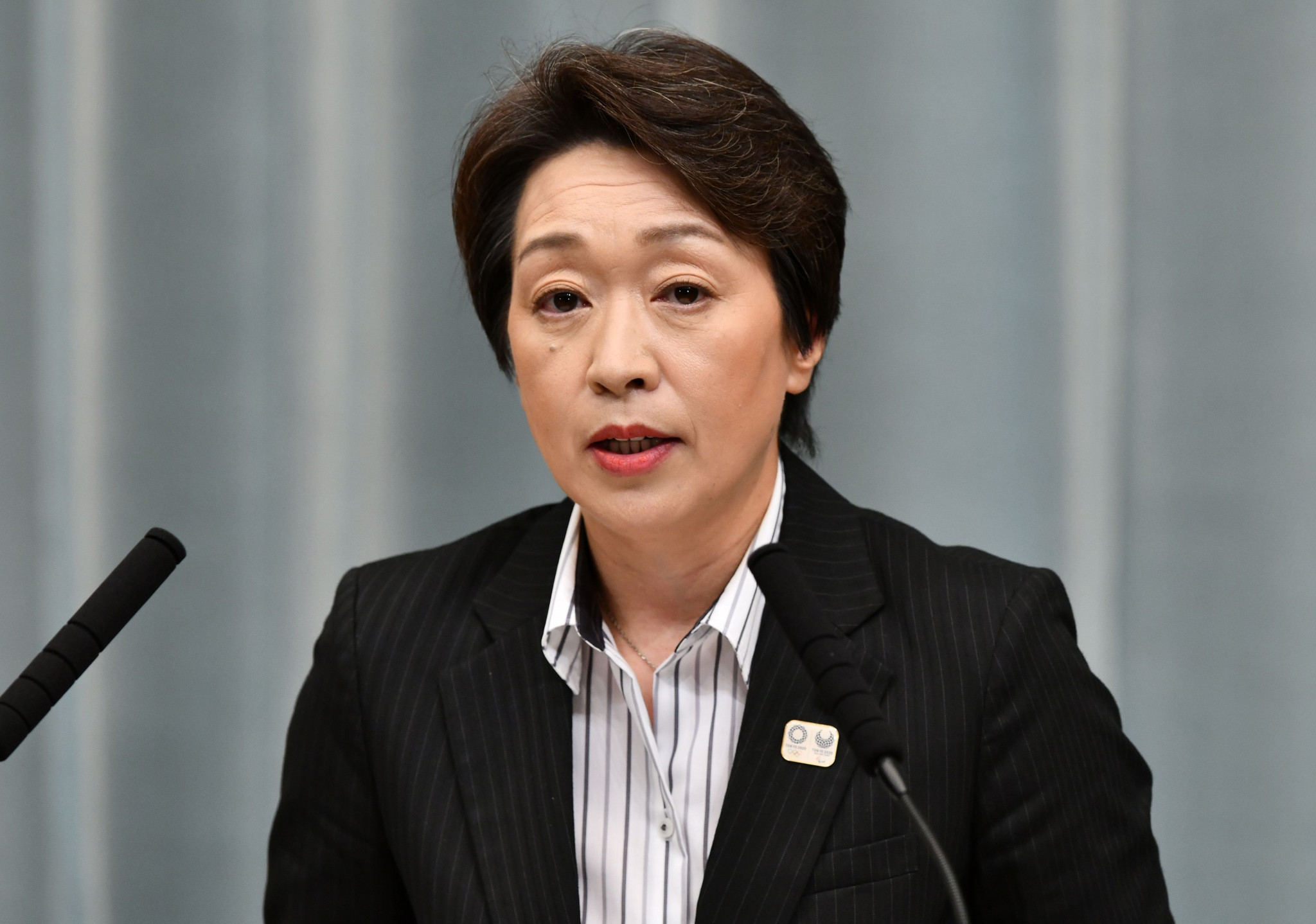 Japan's new Olympics Minister Seiko Hashimoto was in attendance at the opening ceremony ©Getty Images