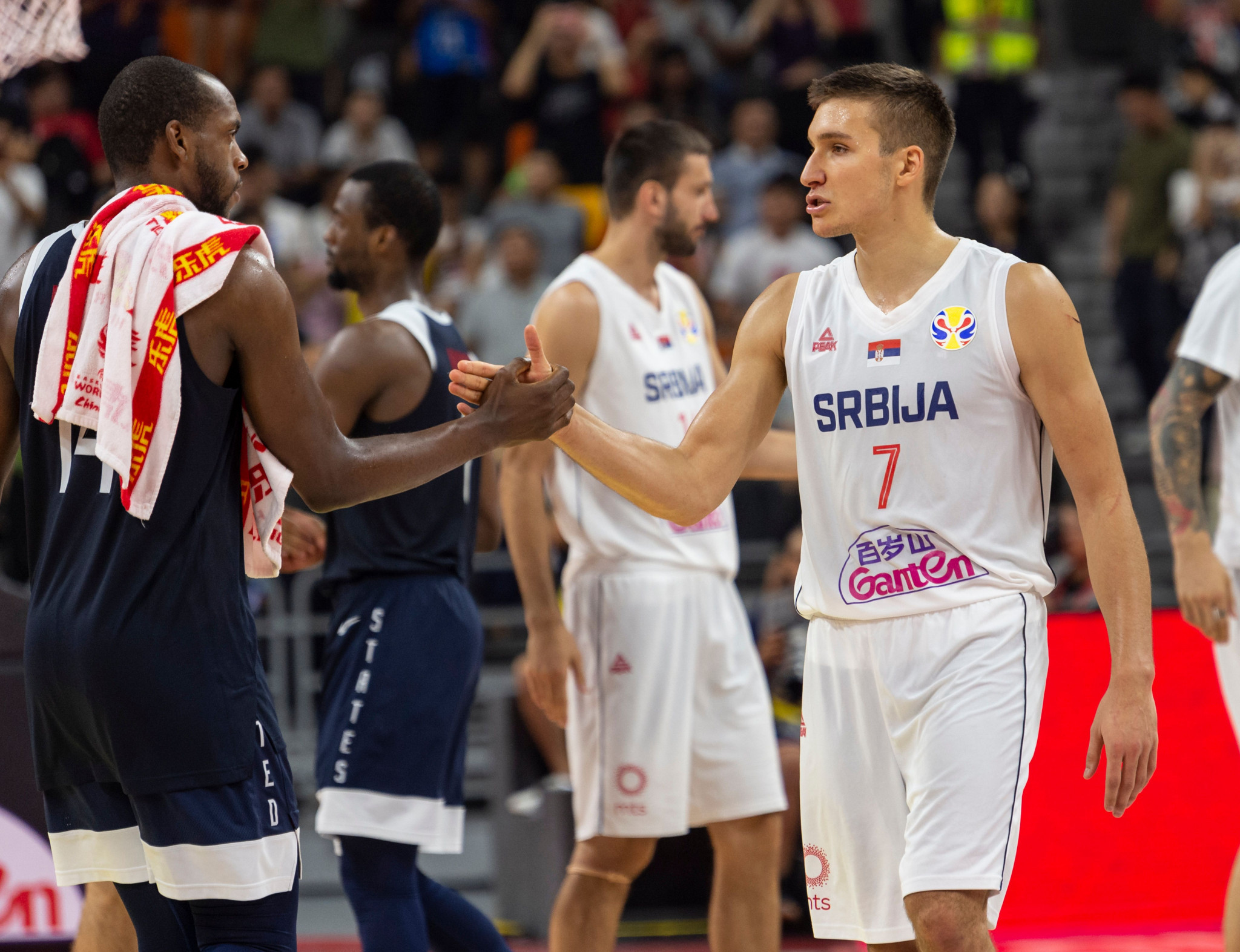 United States to play for seventh place at FIBA World Cup after Serbia defeat