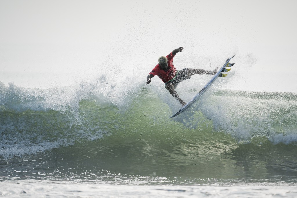 Italo Ferreira performed strongly at the World Surfing Games ©ISA