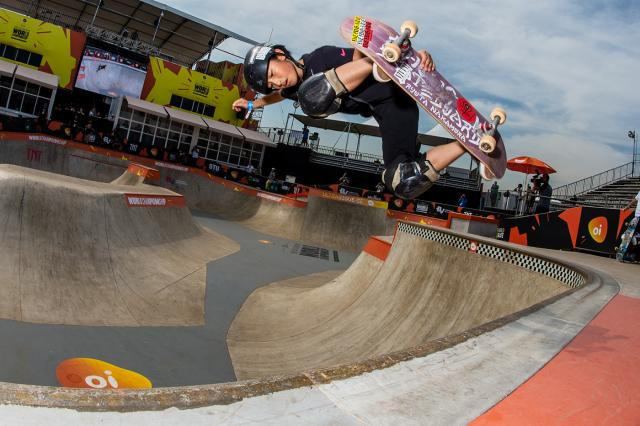 Sixteen seeded athletes will now come into play in the men's and women's events as the World Skate Park World Championships in Brazil move into the quarter-final stage ©World Skate