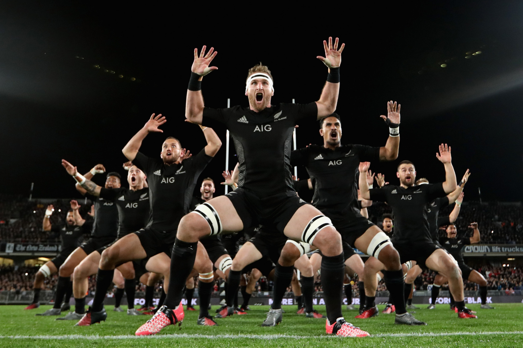 Intimidating and powerful. But can the All Blacks win a third successive World Cup? ©Getty Images