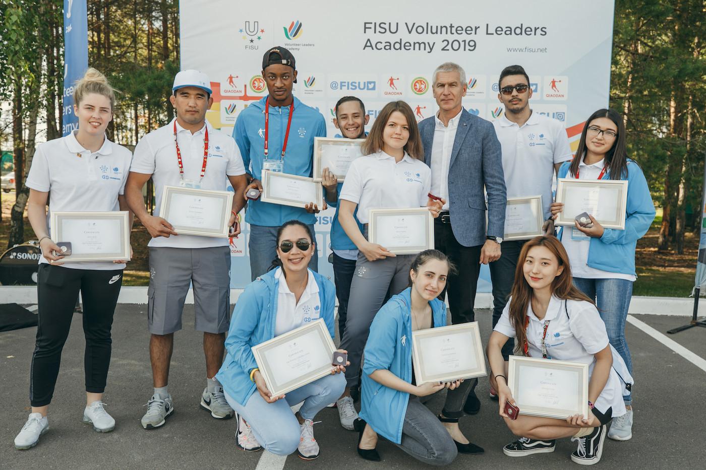 FISU President congratulates participants at Volunteer Leaders Academy