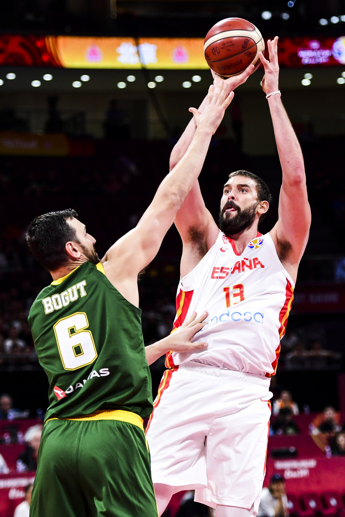 Gasol stars as Spain earn historic win over Australia to secure FIBA World Cup final against Argentina