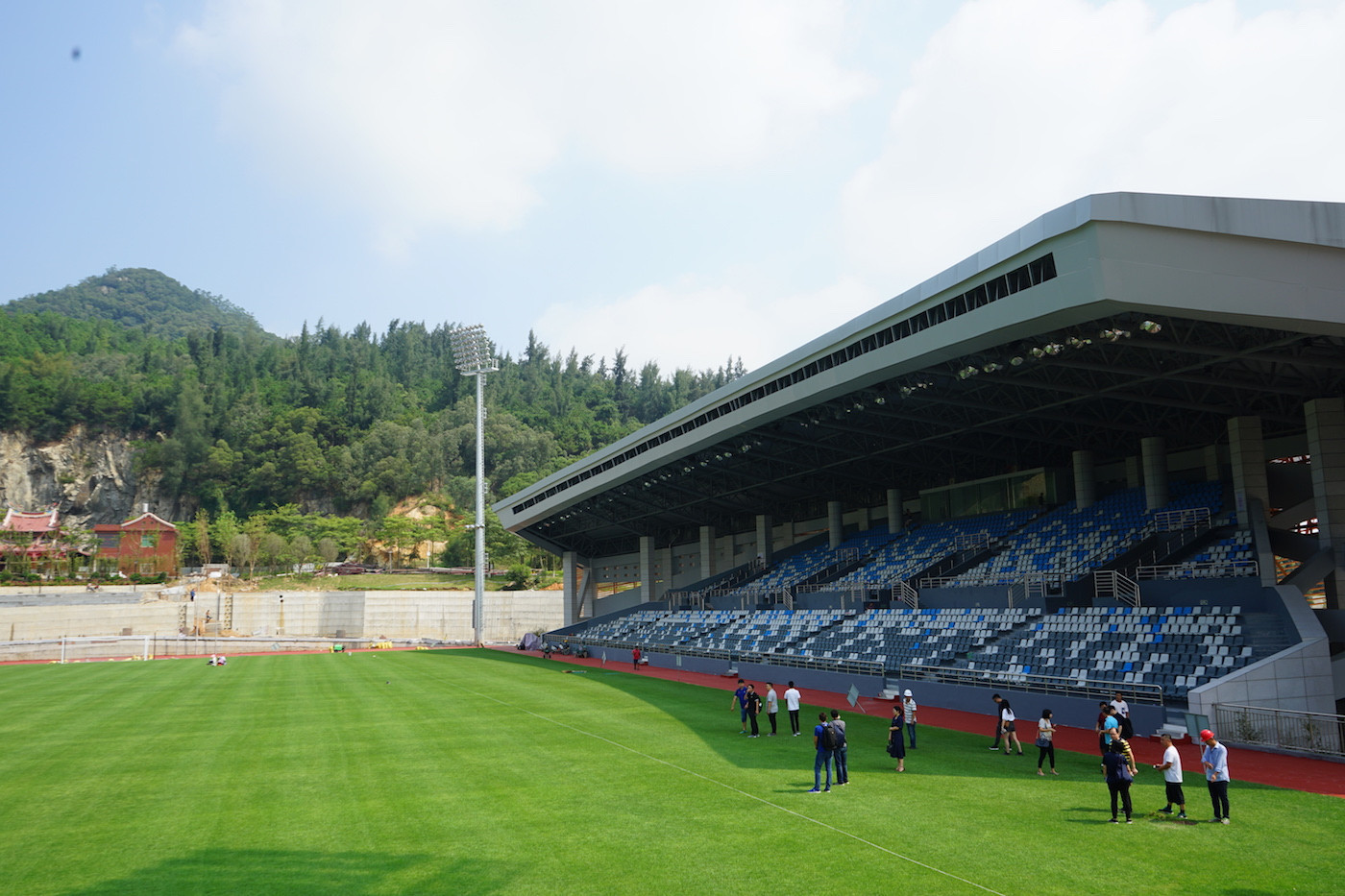 Jinjiang's Mountain Park Stadium will host the men's and women's finals ©FISU