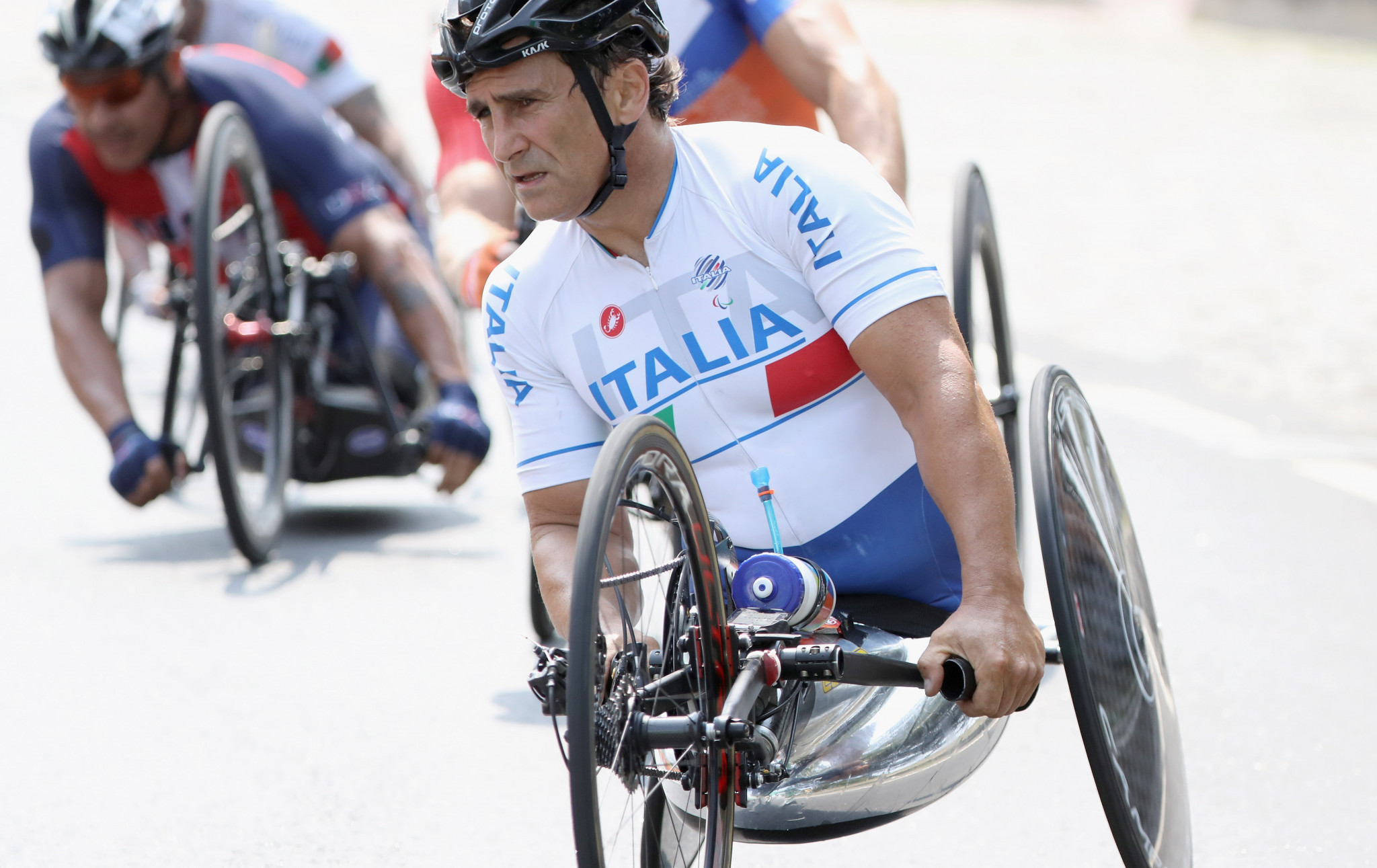 Paralympic champion Zanardi among Italy's four gold medallists at UCI Para-cycling Road World Championships