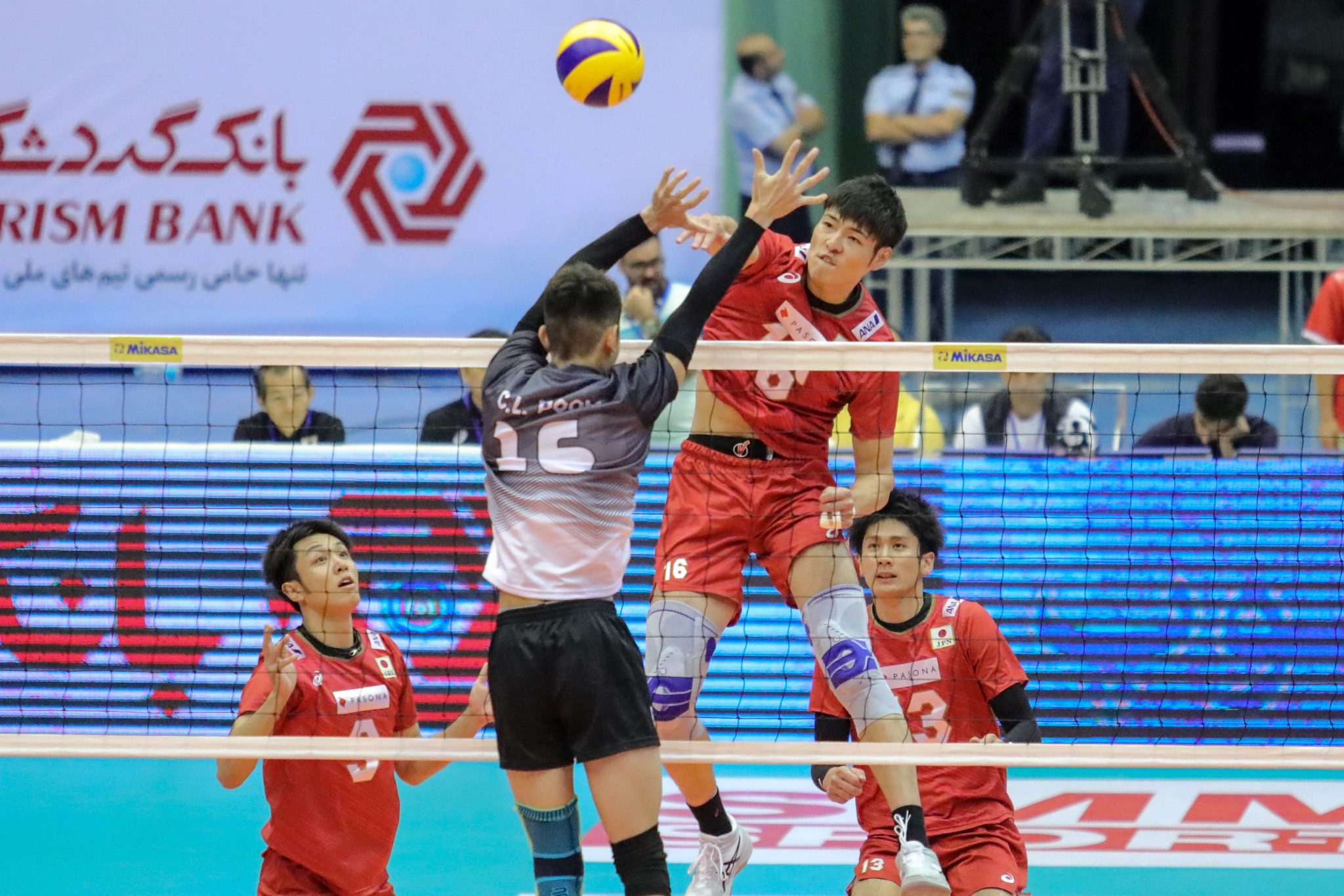 Japan made a dominant start to their defence of the Asian Men's Volleyball title ©AVC