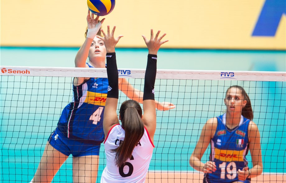 Brazil, China, Italy and US make semi-finals at FIVB Girls' Under-18 World Championship