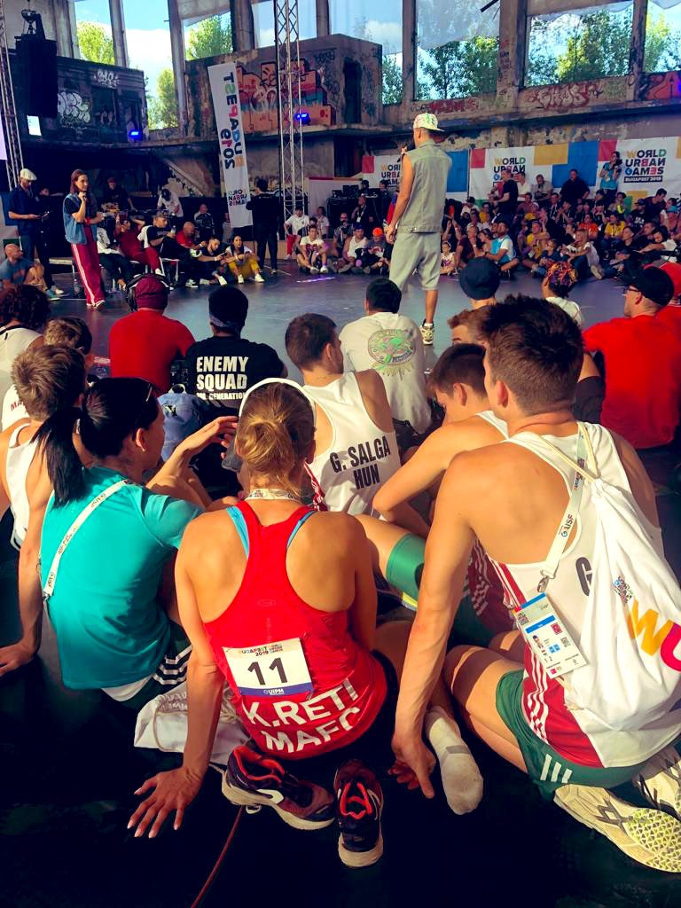 First ever day of World Urban Games action in Budapest