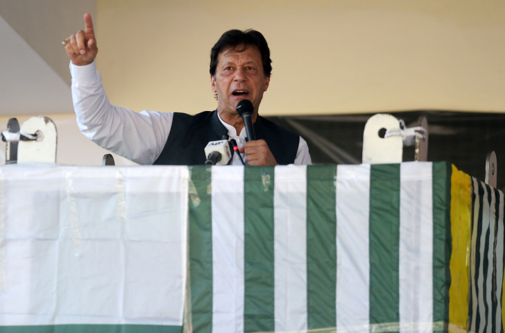 Pakistan Prime Minister Imran Khan has received a direct request ©Getty Images