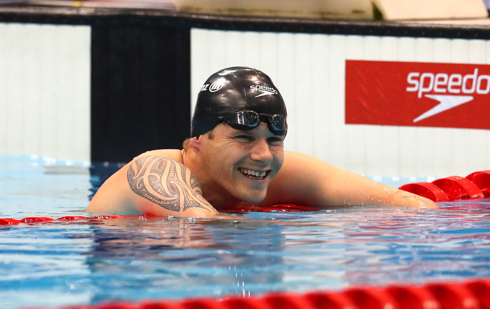 New Zealand's Cameron Leslie broke the world record in the 50m freestyle S4 ©Getty Images