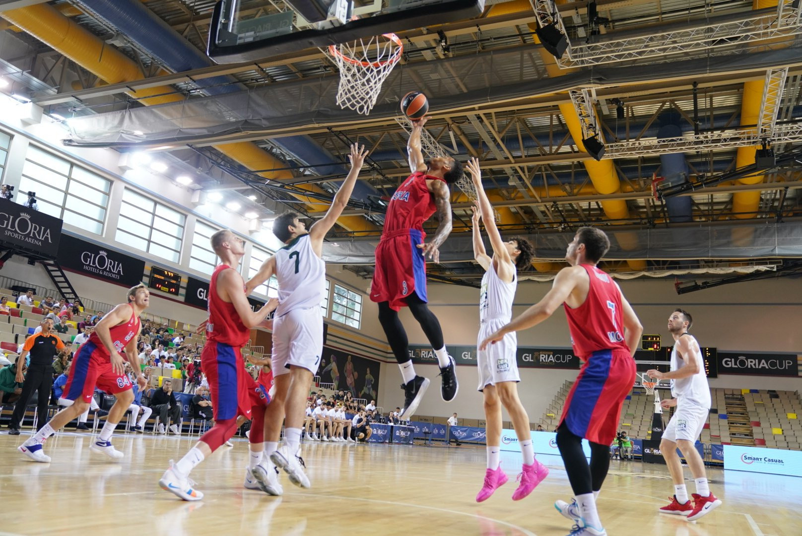 CSKA Moscow and Anadolu Efes reach Gloria Cup basketball final in Antalya