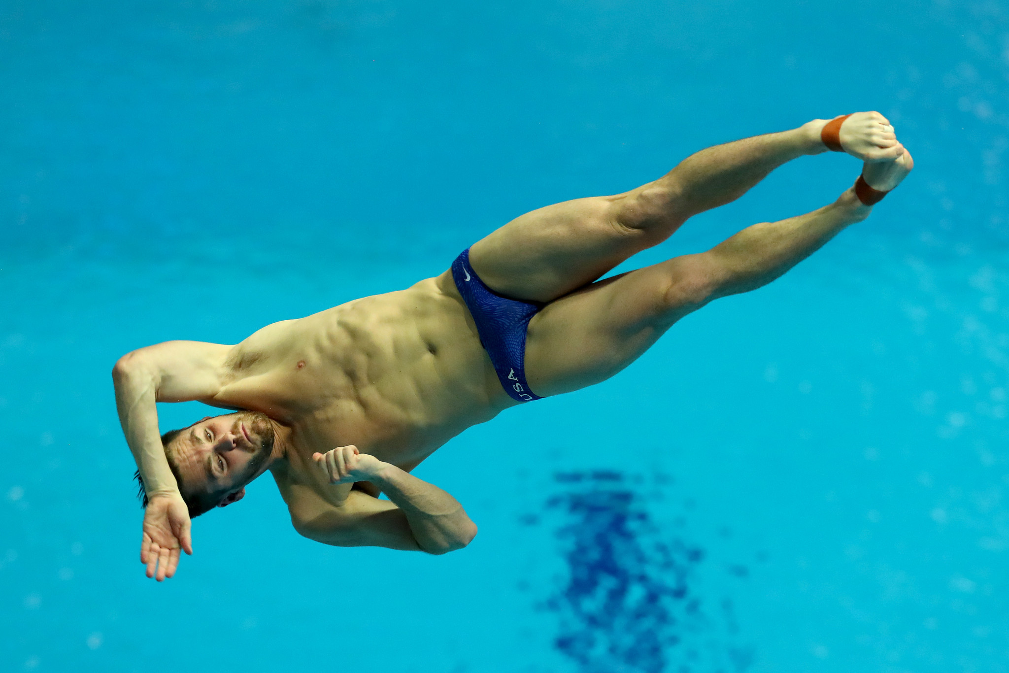 London 2012 Olympic gold medallist David Boudia is just one American diver who will benefit from USA Diving moving to new headquarters ©Getty Images