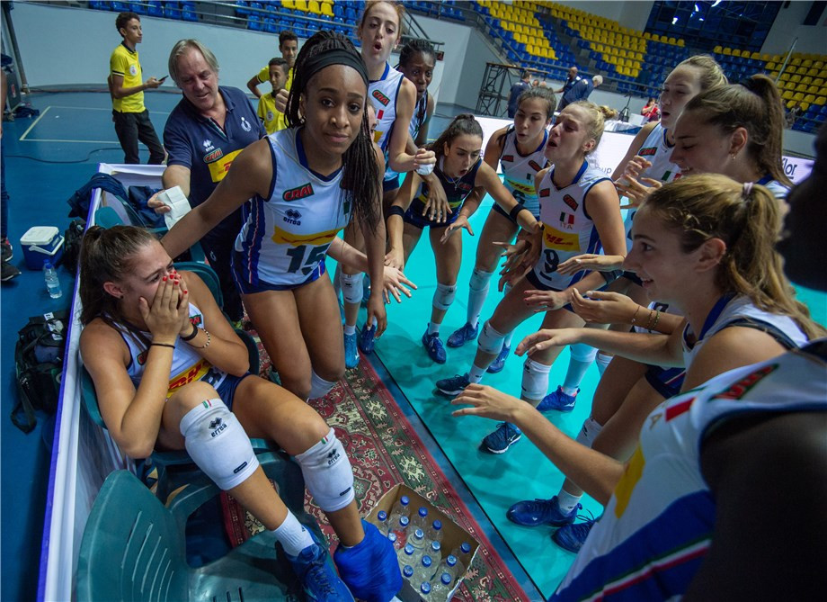 History beckons for Italy and US in FIVB Girls' Under-18 World Championship final
