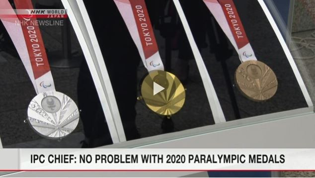 "IPC President Parsons defends Tokyo 2020 Paralympic medals against ""Rising Sun"" charge"