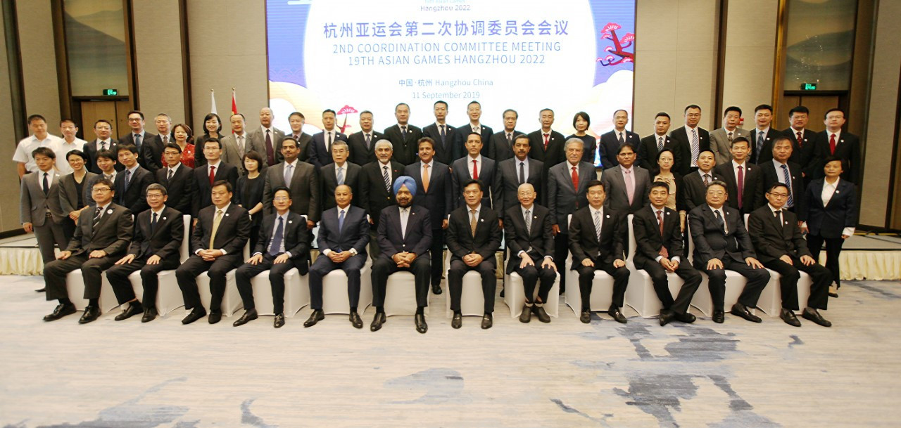 The announcement was made during the latest OCA Coordination Committee visit to Hangzhou ©OCA