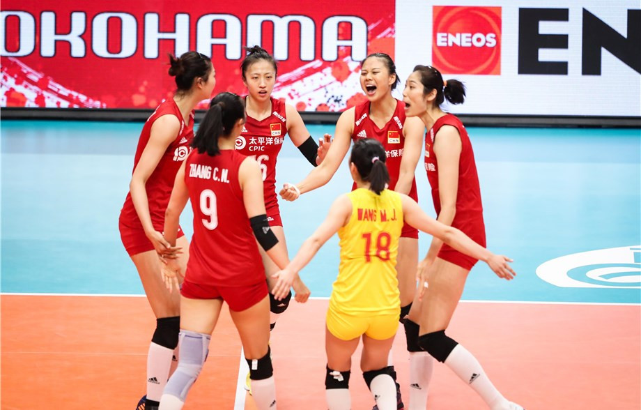 Defending champions China got off to a winning start in the FIVB Women's World Cup in Japan ©FIVB