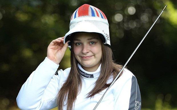 Seventeen-year-old wheelchair fencer announces retirement