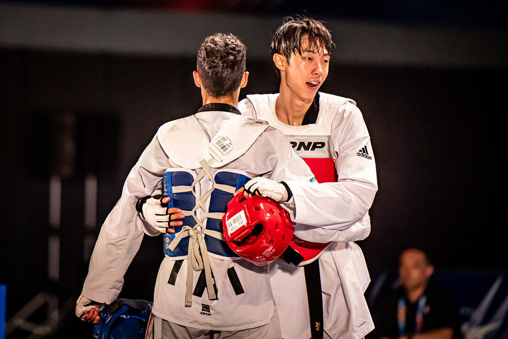 Double gold for South Korea on penultimate day of World Taekwondo Grand Prix