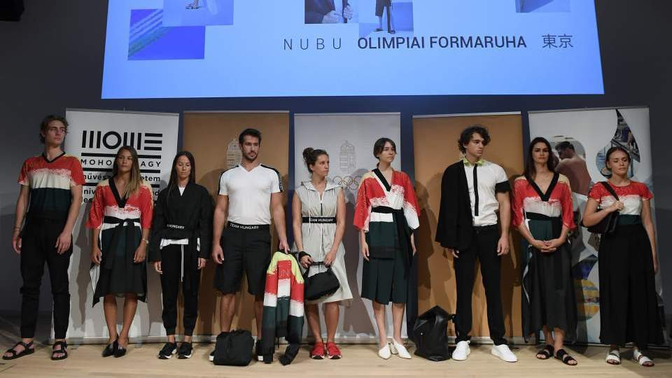 Hungarian Olympic Committee select NUBU as athlete uniform suppliers for Tokyo 2020