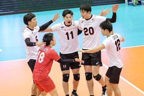 Defending champions Japan have earned a second win at the Asian Men's Volleyball Championship in Tehran ©AVC