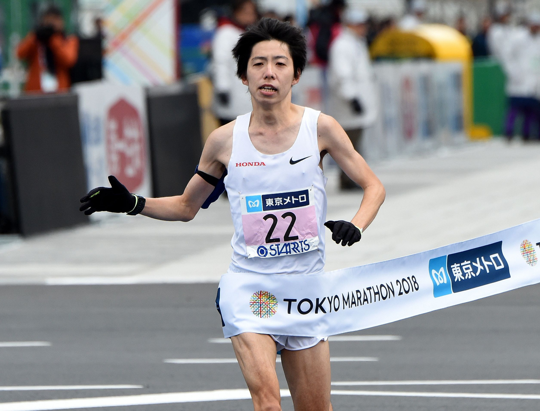 Yuta Shitara will have eyes on an automatic Tokyo 2020 spot ©Getty Images