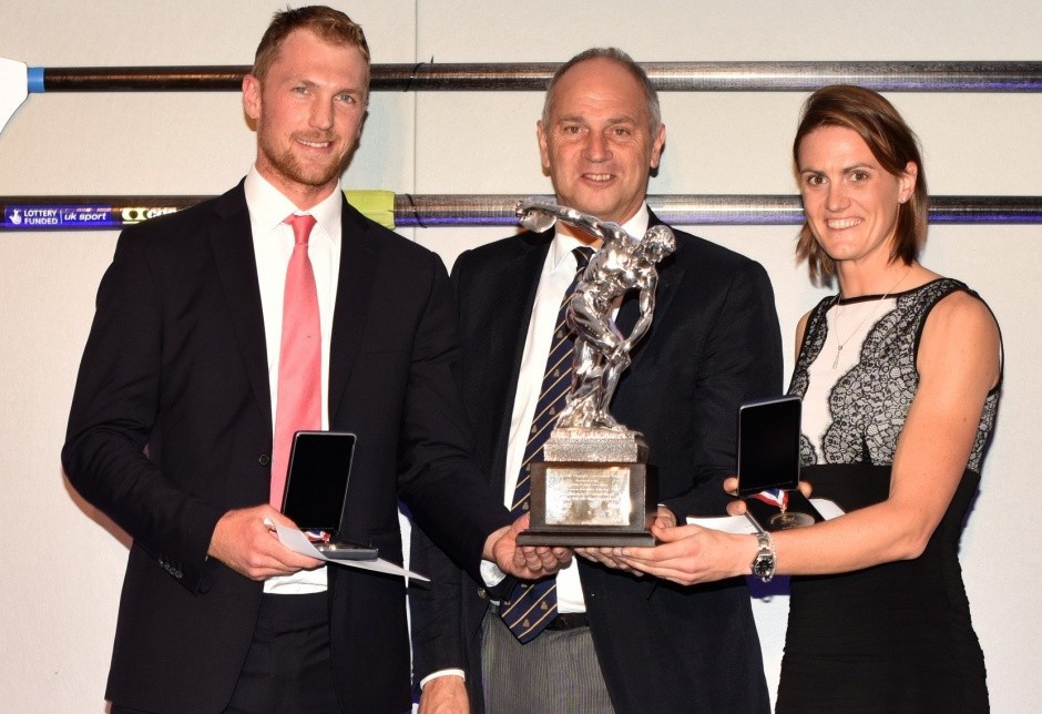 Gregory and Stanning named GB Rowing Olympic Athletes of the Year