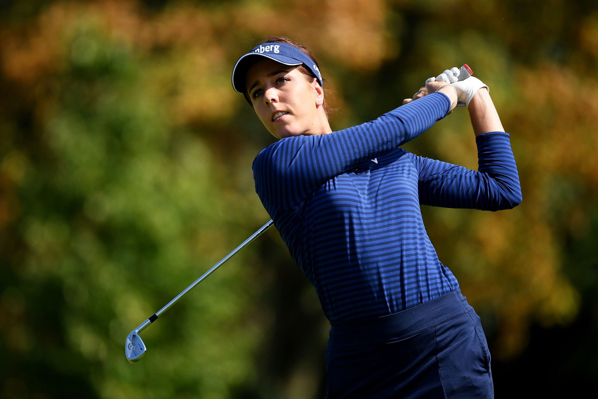 Georgia Hall will require all of her experience on the final day of the Solheim Cup ©Getty Images
