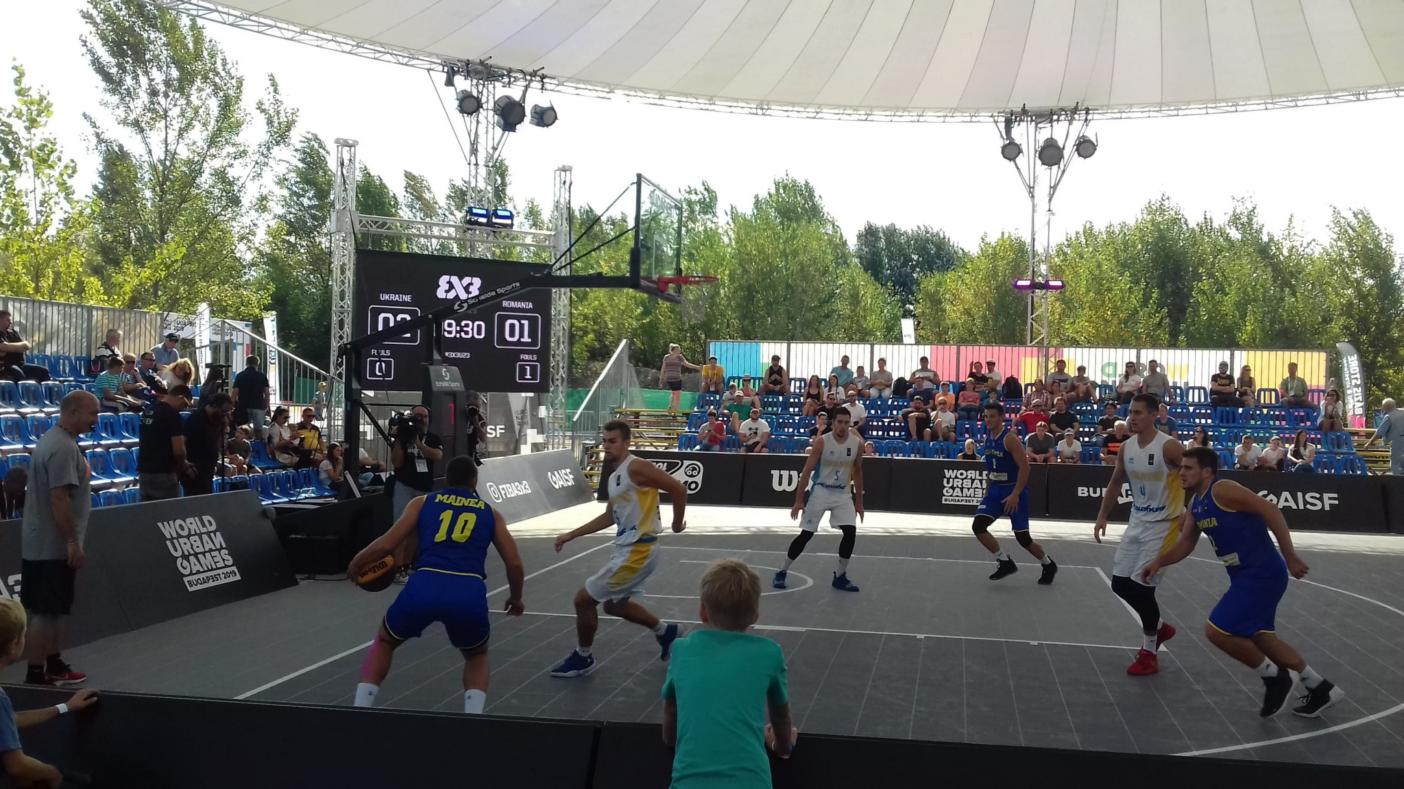 Pool matches in 3x3 basketball continued throughout the day ©ITG