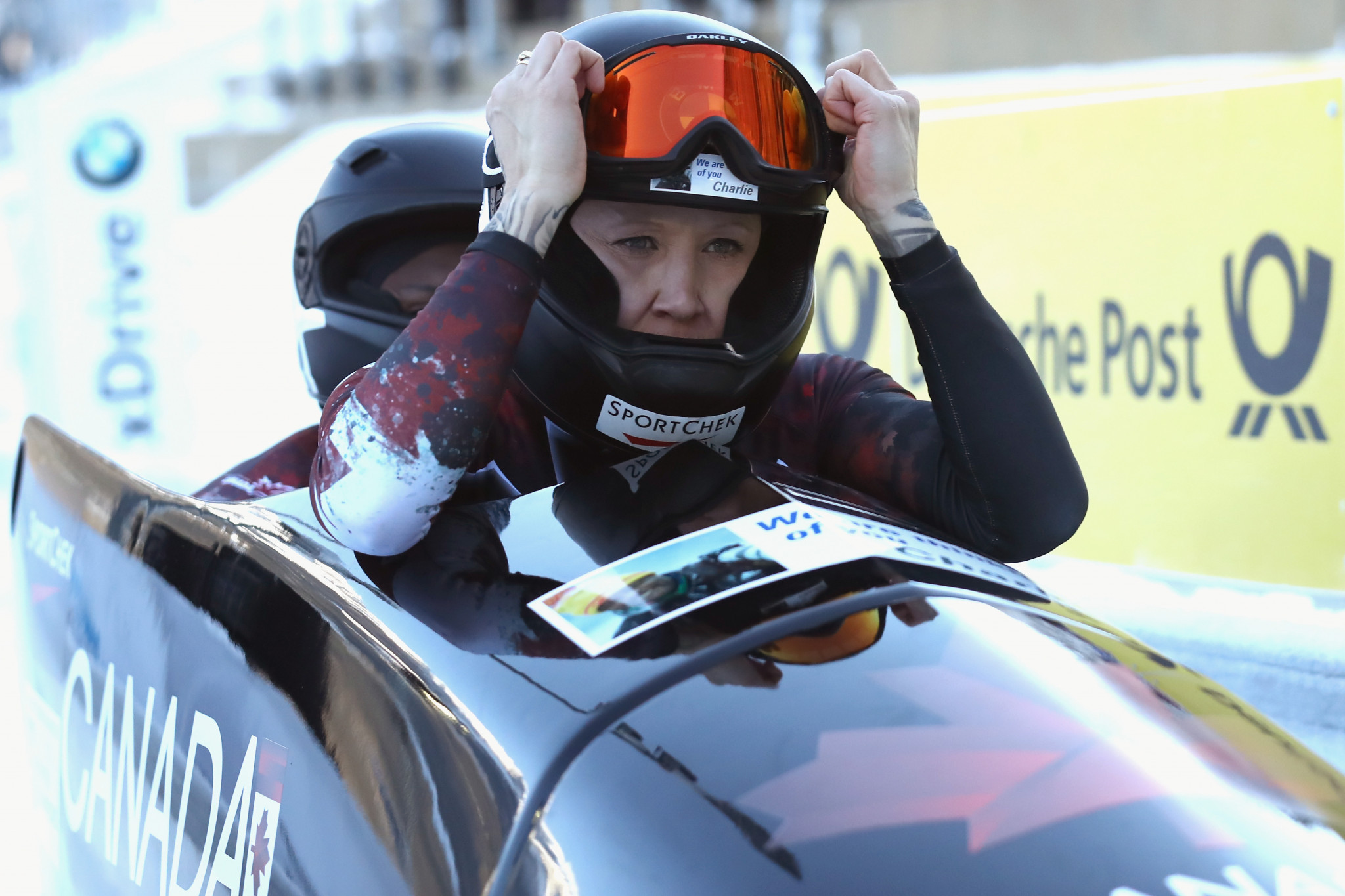 Kaillie Humphries is a double Olympic gold medallist ©Getty Images