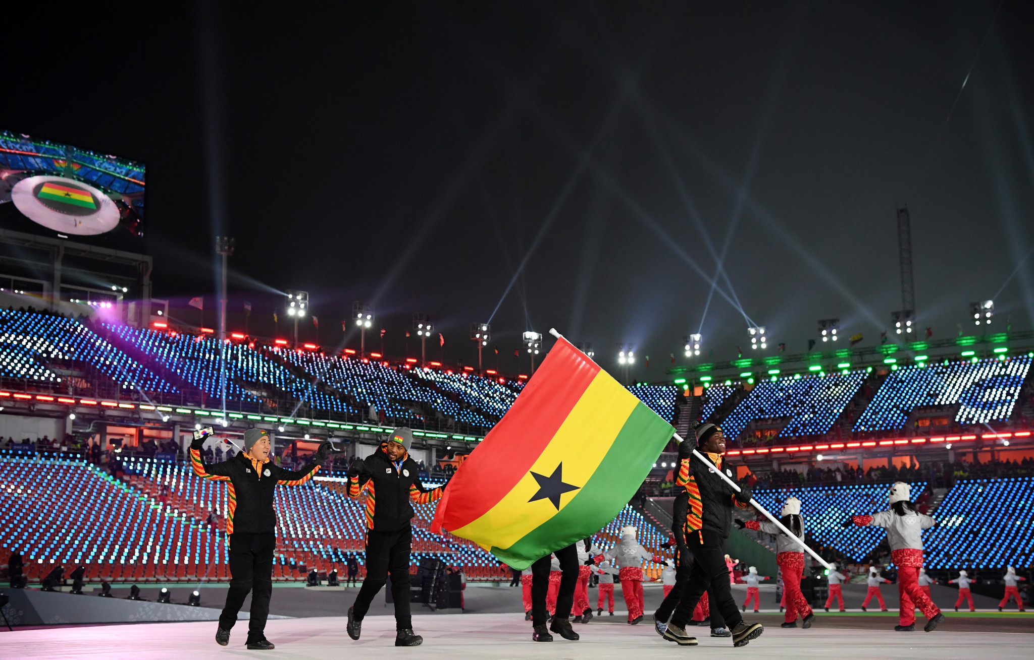 Ghana has won four Olympic medals in its history ©Getty Images