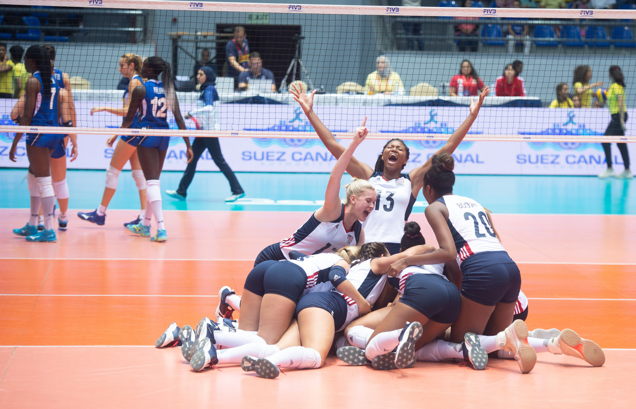 United States beat Italy to earn first gold at FIVB Girls' Under-18 World Championship
