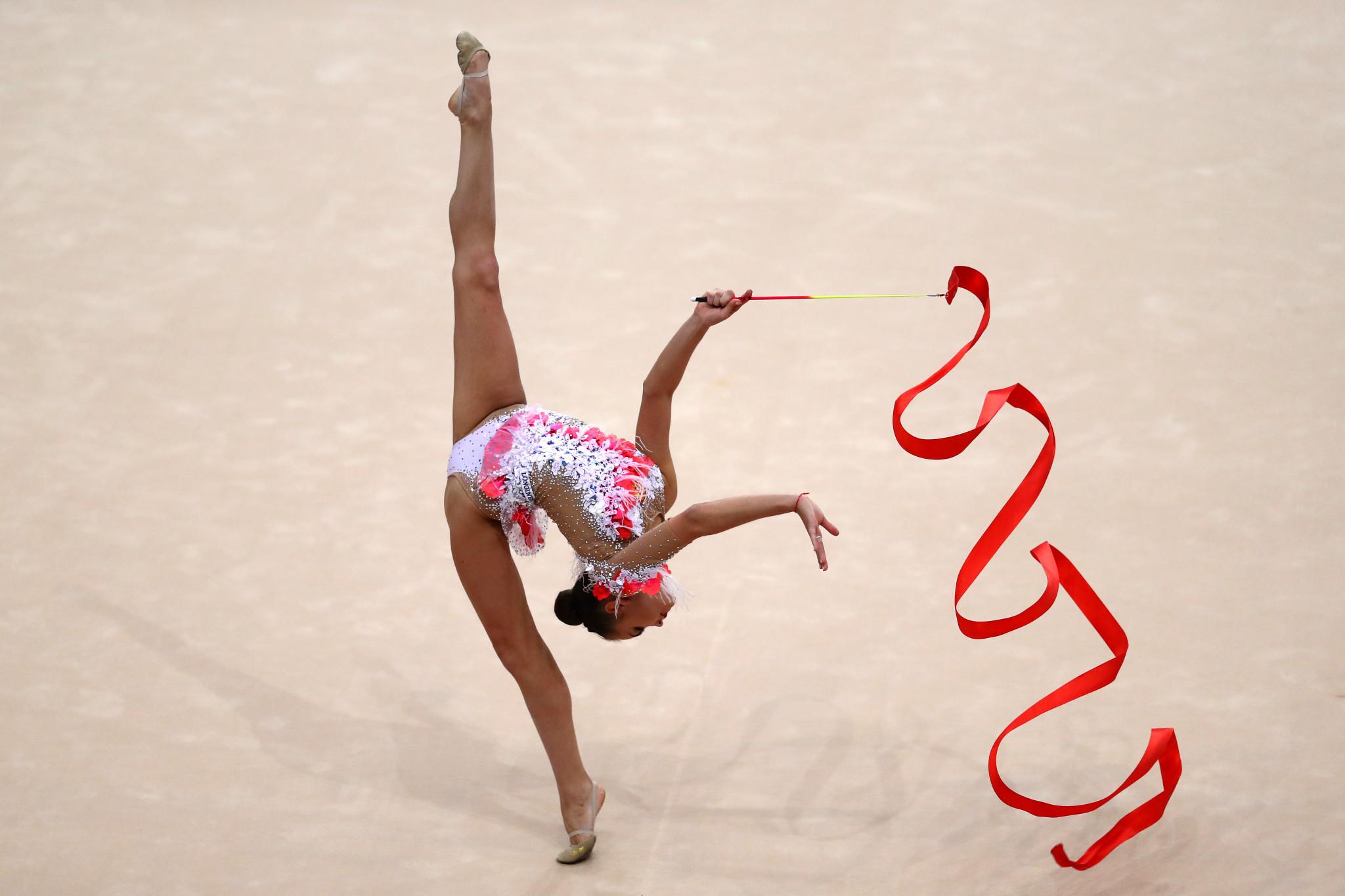 Tokyo 2020 places on offer at FIG Rhythmic Gymnastics World Championships in Baku