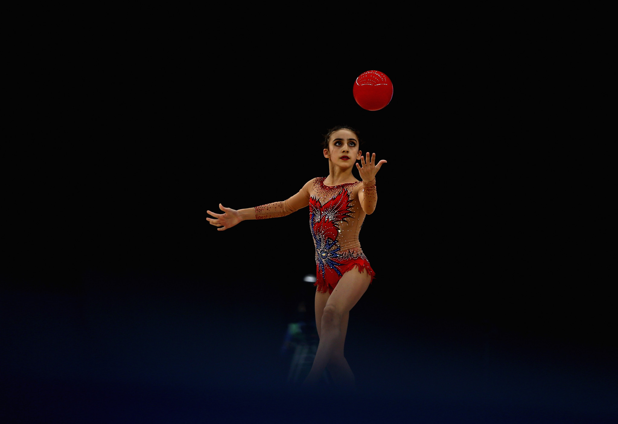 Zohra Aghamirova will be among the Azerbaijani gymnasts competing on home soil in Baku ©Getty Images