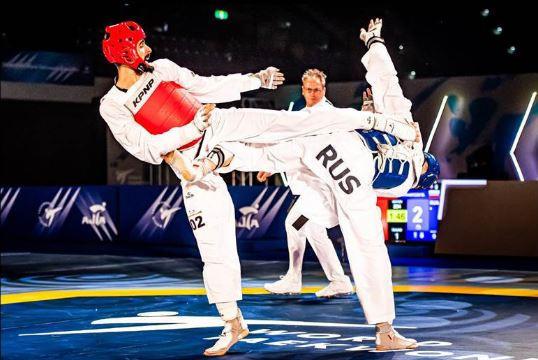 Azerbaijan's Harchegani beats Russia's world champion Khramtcov in memorable contest at World Taekwondo Grand Prix