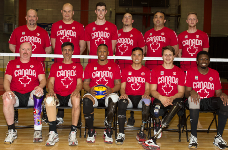 Canada's male sitting volleyball team will be hoping to improve upon 2011 bronze at the Parapan American Games ©Patrice Lapointe/CPC