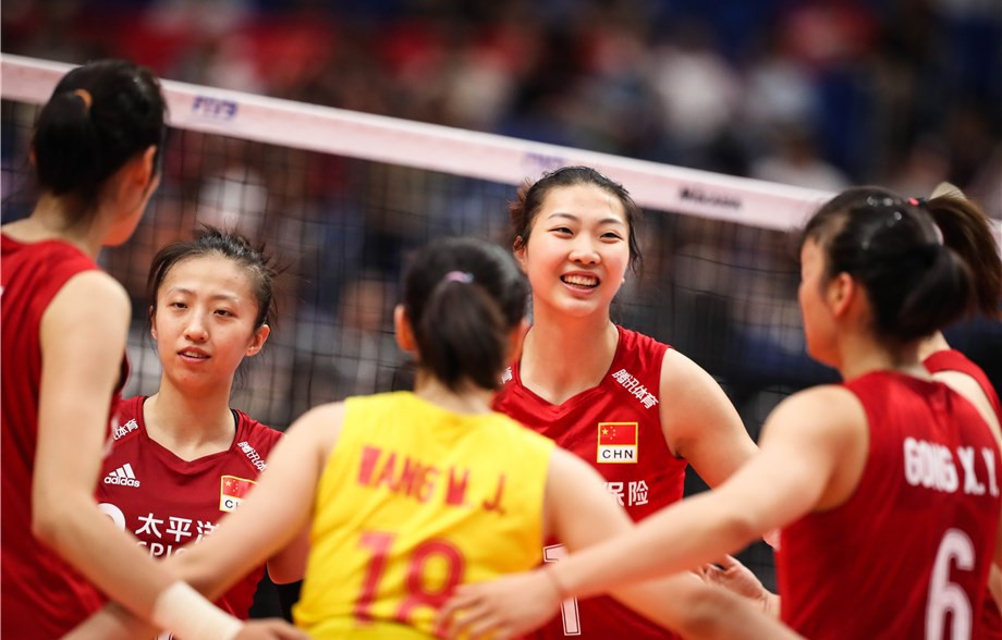 China march on in pursuit of fifth title at FIVB Women's World Cup but hosts Japan lose to Russia